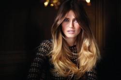 Брондирование волос с эффектом Ombre