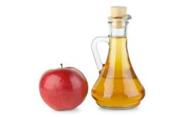 Яблочный уксус для блеска волос