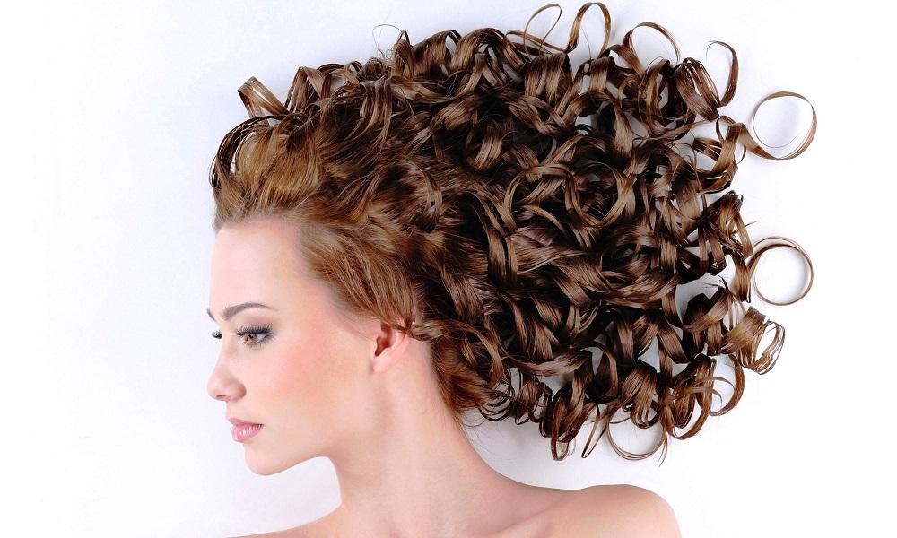 Волосы, после обработки жидким шелком