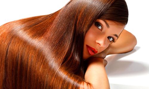 Волосы с ламинированием
