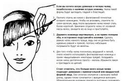 Рекомендации по стрижке косой челки своими руками
