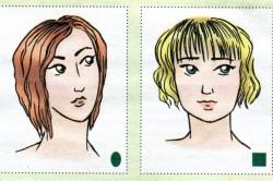 Стрижка каре в зависимости от формы лица