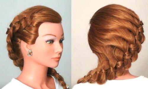 Колос на длинные волосы