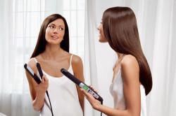 Ломкость волос от использования утюжка