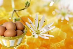 Медовая маска с добавлением яичного желтка