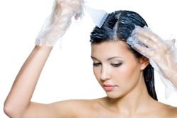 Правильное окрашивание волос цветной краской
