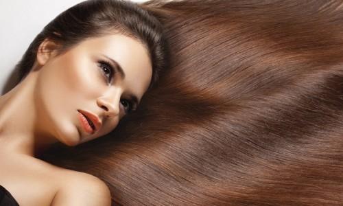 Прямые волосы после кератиновой процедуры