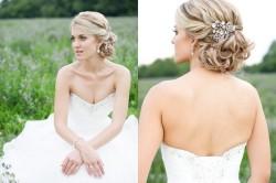 Свадебные прически для длинных волос в стиле ретро