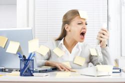Стресс как причина появления перхоти