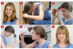 Этапы самостоятельной стрижки для волос средней длины