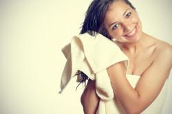 Естественная сушка волос