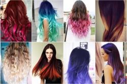 Варианты окрашивания волос пастелью