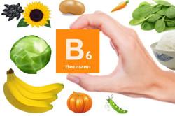 Употребление продуктов с содержанием витамина В6