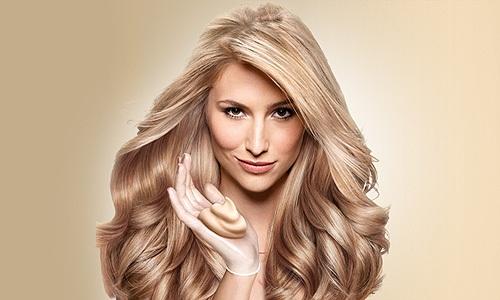 Окрашивание волос краской-муссом