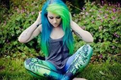 Соблюдение тональности при окрашивании волос в разные цвета