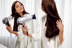 Объем волос при помощи фена