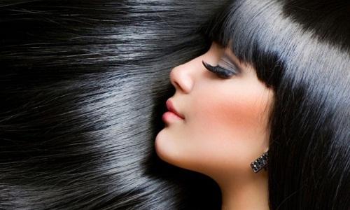 Красивые волосы после кератиновой маски