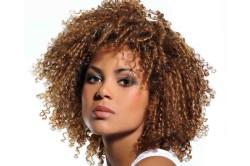 Вертикальная химическая завивка волос
