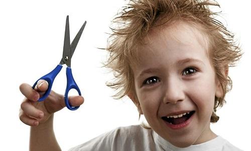 Детская стрижка для мальчиков