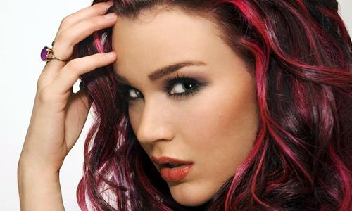 Двухцветная покраска волос