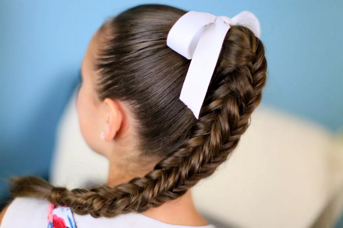 Как заплести волосы в косу