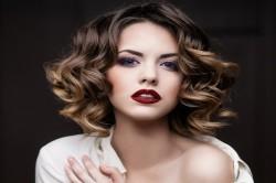 Окрашивание волос балаяж на короткую стрижку