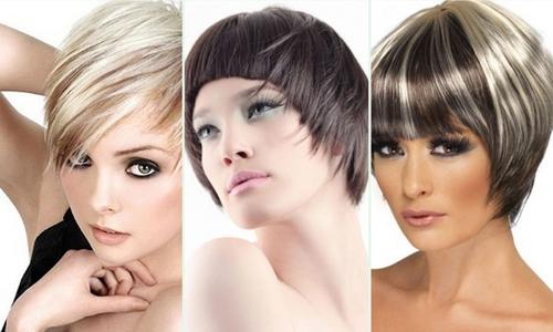 Современные стрижки на короткие волосы