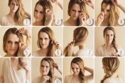 Прическа для длинных волос с косой