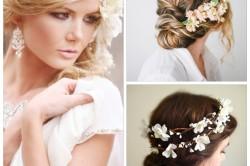 Варианты греческой прически на свадьбу