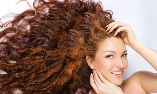 Волосы, окрашенные хной