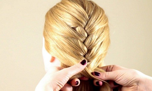 плетение обычной косы
