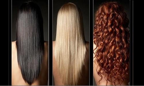 Лисий хвост для разных цветов волос