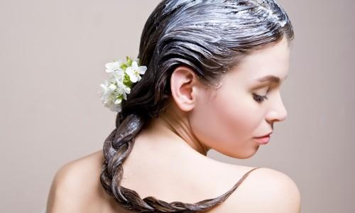 Лечебная маска для волос