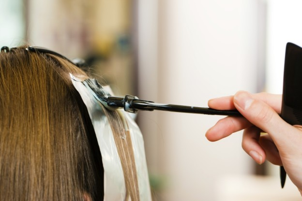 Чем покрасить черные волосы в домашних условиях 183