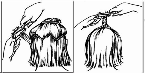 Быстрые причёски на волосы средней длины