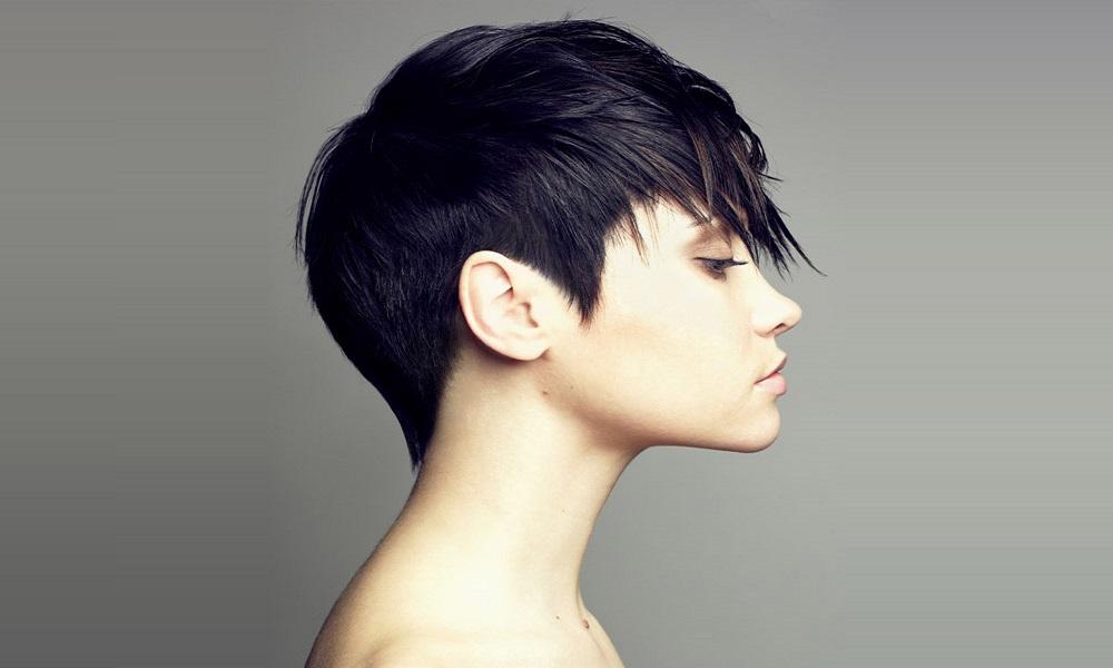 Короткая стрижка волос гарсон